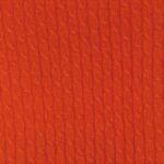arancio scuro - Sciarpa Treccine